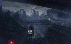 Picture train, Makoto Xingkai, five centimeters per second
