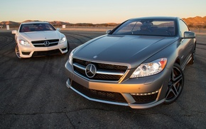 Picture Mercedes-Benz, Mercedes, the front, CL-class