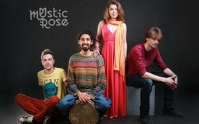 Picture music, group, Aziz Ibragimov, ethno, Mystic Rose