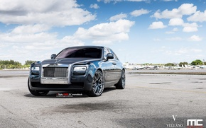 Picture Rolls-Royce, Ghost, black