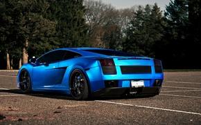 Picture Lamborghini, dark blue, LAMBORGHINI GALLARDO, GALLARDO, cars, color, auto, Supercar, wallpapers auto, Supercars, auto, blue