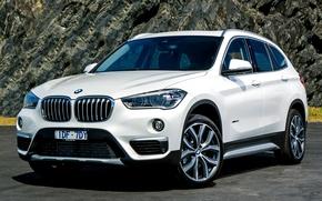 Picture white, BMW, BMW, F48, krosver