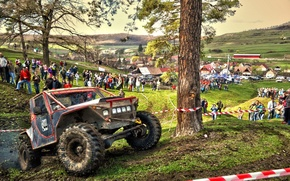 Picture race, trophy, Offroad, Transylvania