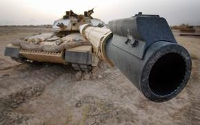 Wallpaper war, the barrel, Tank