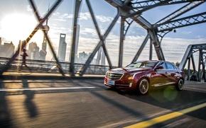 Wallpaper Cadillac, Cadillac, ATS, 2015