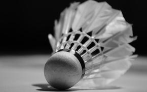 Wallpaper feathers, Badminton, plastic