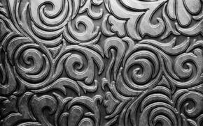 Picture metal, pattern, silver, metal, texture, background, pattern, steel, metallic