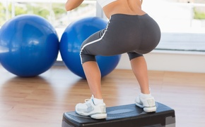 Picture legs, workout, fitness, buttocks, toning