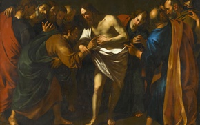 Picture picture, myth, Doubting Thomas, Wouter Pietersz Crabeth