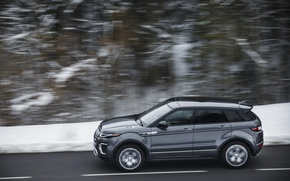 Picture SUV, Land Rover, Range Rover, car, side view, in motion, Evoque, Autobiography