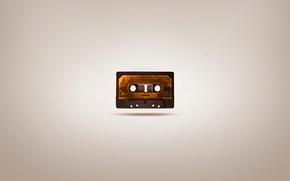 Picture figure, minimalism, minimalism, cassette, picture