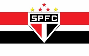 Picture wallpaper, sport, logo, football, Sao Paulo FC