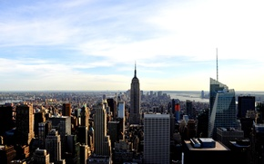 Picture city, view, home, America, new York, new york, usa