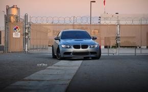 Picture grey, bmw, BMW, gate, Matt, e92, matte space grey