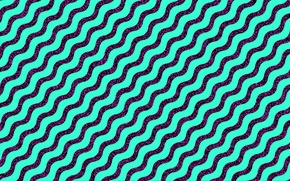 Picture wave, abstraction, pattern