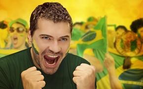 Picture Football, Brasil, FIFA, Fan