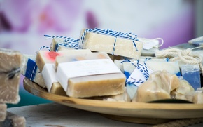 Picture purity, soap, the smell, handmade