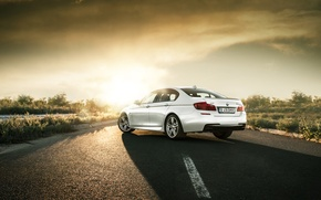 Picture Road, BMW, BMW, F10, bimmer, M550d