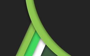 Picture white, line, green, black, geometry, green, design, color, material
