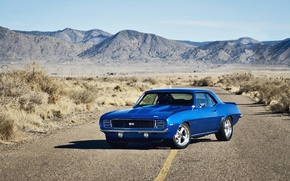 Picture Chevrolet, road, muscle car, rechange, chevrolet camaro, lunchbox photoworks