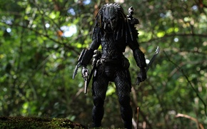 Wallpaper toy, predator, figurine, Predator, thing