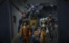 Picture heroes, animated series, Star wars: Rebels, Star Wars: Rebels