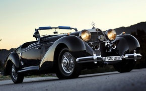 Picture Roadster, Mercedes-Benz, Mercedes, 540K, Benz, 1939