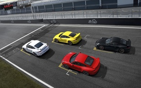 Picture gt3, yellow, group