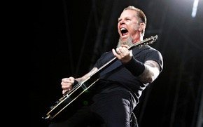 Wallpaper James, Metallica, Alan, Hetfield