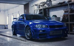 Picture Nissan, Skyline, GT-R34, Turbonetics