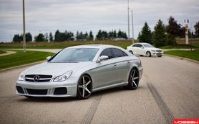Picture silver, Mercedes-Benz CLS, vossen, C-class