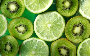 Picture green, kiwi, lime, fruit