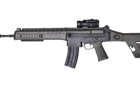 Picture gun, weapon, charger, Brazil, butt, rifle, ordnance, carbine, folding butt, spyglass, Imbel IA-2 5.56, Imbel, …