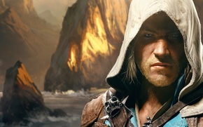 Picture Pirate, Ubisoft, Assassin, Edward Kenway, Assassin's Creed IV: Black Flag, Edward Kenway