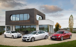 Picture house, Cadillac, three, CTS