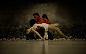 Picture girl, dance, guy, Hugo Miguel, Andreia Carvalhais, Devil Passion