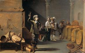 Picture picture, barrel, genre, Jacob Duk, Tasters