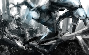 Picture robot, monster, cyborg, sci fi, Por-t-falatron