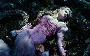Picture Pink, Girl, Fantasy, Nature, Beautiful, Darkness, the, Night, Wallpaper, Family, Eyes, Rapunzel, Mountains, Year, Walt ...