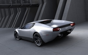 Wallpaper the concept car, Panthera, Design by Stefan Schulze