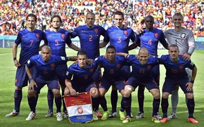 Picture Wesley Sneijder, Robin van Persie, FIFA, FIFA, Robin van Persie, Arjen Robben, Arjen Robben, Ron …