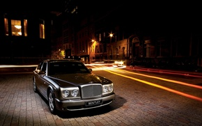 Wallpaper street, Bentley, train, Arnage