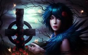Picture dark, horror, goth