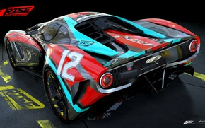 Picture car, wallpaper, silver, sport, red, game, supercar, design, prototype, power, custom, speed, racing, sports, race …