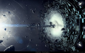 Picture spaceship, neoterya, the last gate