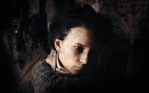 Picture sadness, girl, darkness, the film, war, art, Kate, drama, Russian, Stalingrad, Maria Smolnikova