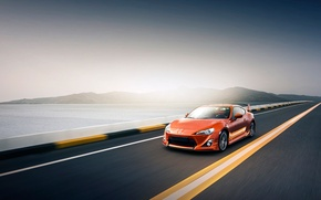 Picture speed, track, Toyota GT86