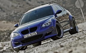 Picture blue, tuning, BMW, BMW, Lumma