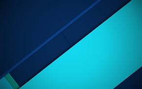 Picture line, blue, blue, geometry, design, color, material