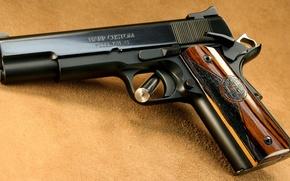 Picture Gun, Custom, 1911 Pistols, моdel, Harp, 1911 A1), (Сolt